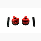 Secraft Wing Bolts M6 (Steel Screw) (Red)