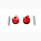 Secraft Wing Bolts 1/4-20 (Aluminium Screw) (Red)