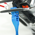 Secraft Aluminium Transmitter Stand V2 (Blue)