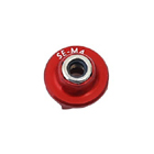 Secraft Wood Lock Nut M4 (Red)