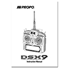 JR Propo DSX9 Operation Manual
