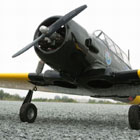 "VQ Models AT-6 Texan (Black) 60.5"" Wingspan (EP/GP)"
