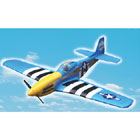 "VQ Models P-51D Mustang (Obession) 58.2"" Wingspan (EP/GP)"
