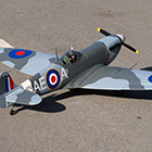 VQ Models Supermarine Spitfire 60.6in Wingspan ARF