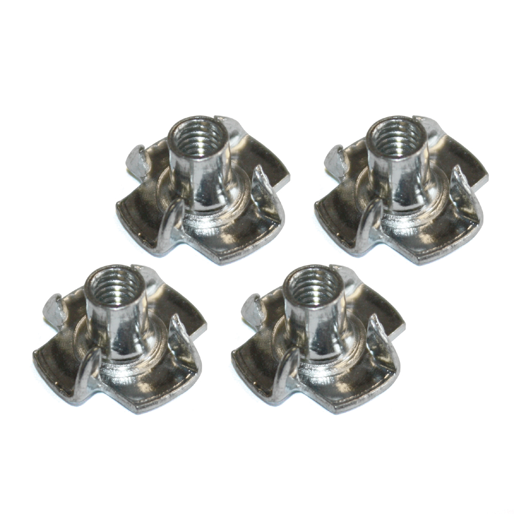 Pronged T Nuts/Blind Nuts M5 (x4) - Click Image to Close