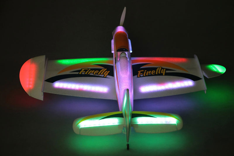 FMS 1090MM LED FireFly ARTF - Click Image to Close