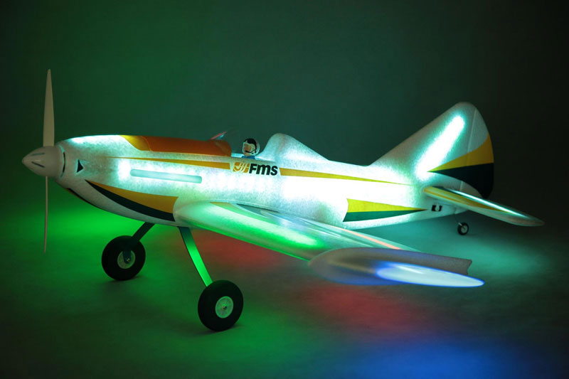 FMS 1090mm Wingspan LED FireFly ARTF - Click Image to Close