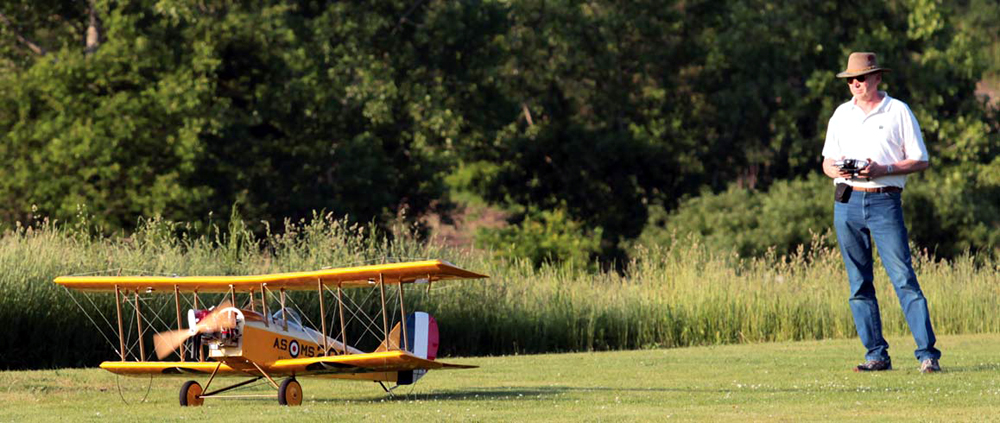 Maxford USA Curtiss JN-4 'Jenny' 105in (V2) - Click Image to Close