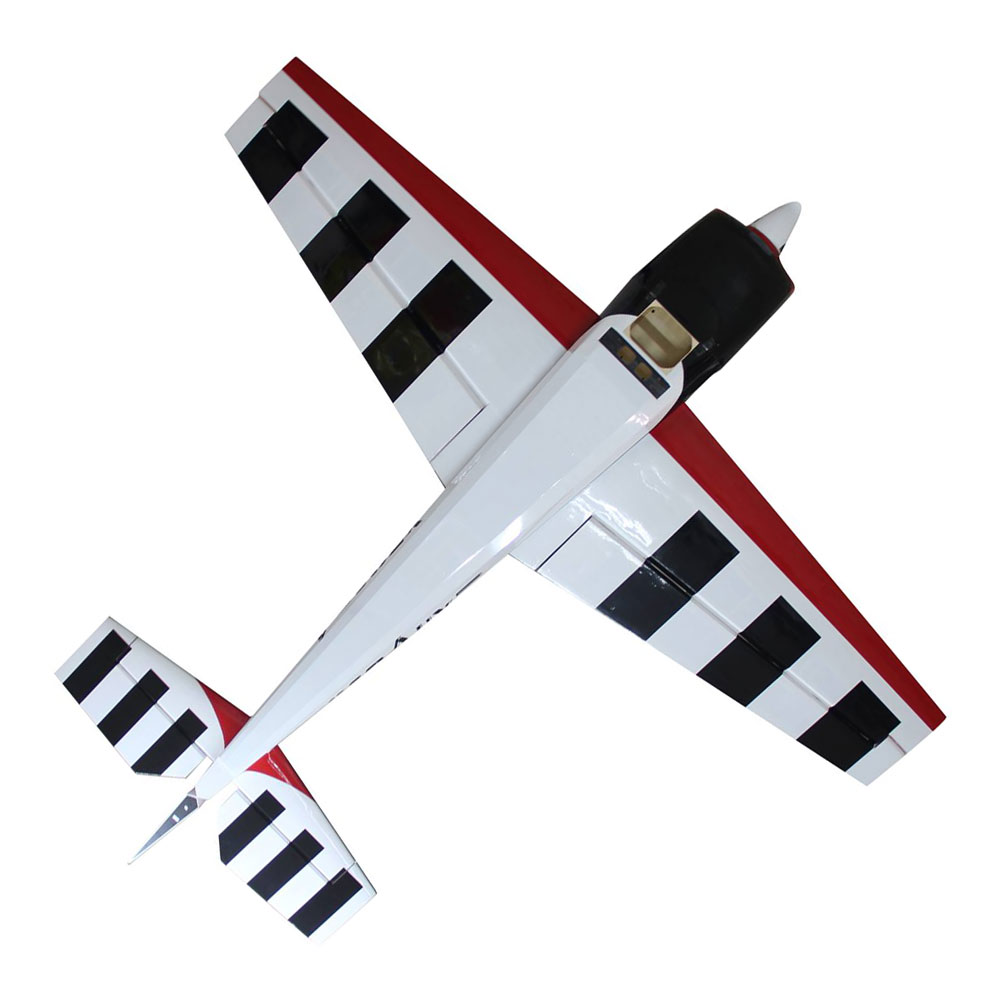 Pilot-RC Extra-330LX 103in (2.6m) (CF Ver) (Red/Black/White) - Click Image to Close