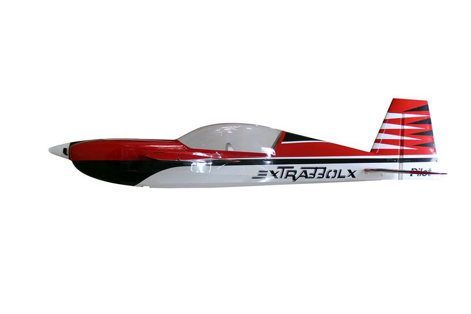 Pilot-RC 35% Extra-330LX 103in (2.6m) (Red/Black/White) - Click Image to Close