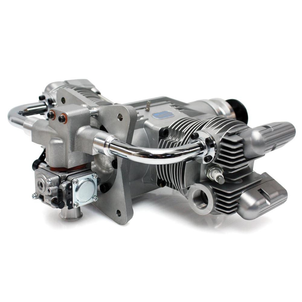 Saito FG-100TS (100cc) Twin 4-Stroke Petrol Engine Saito FG-100TS 4