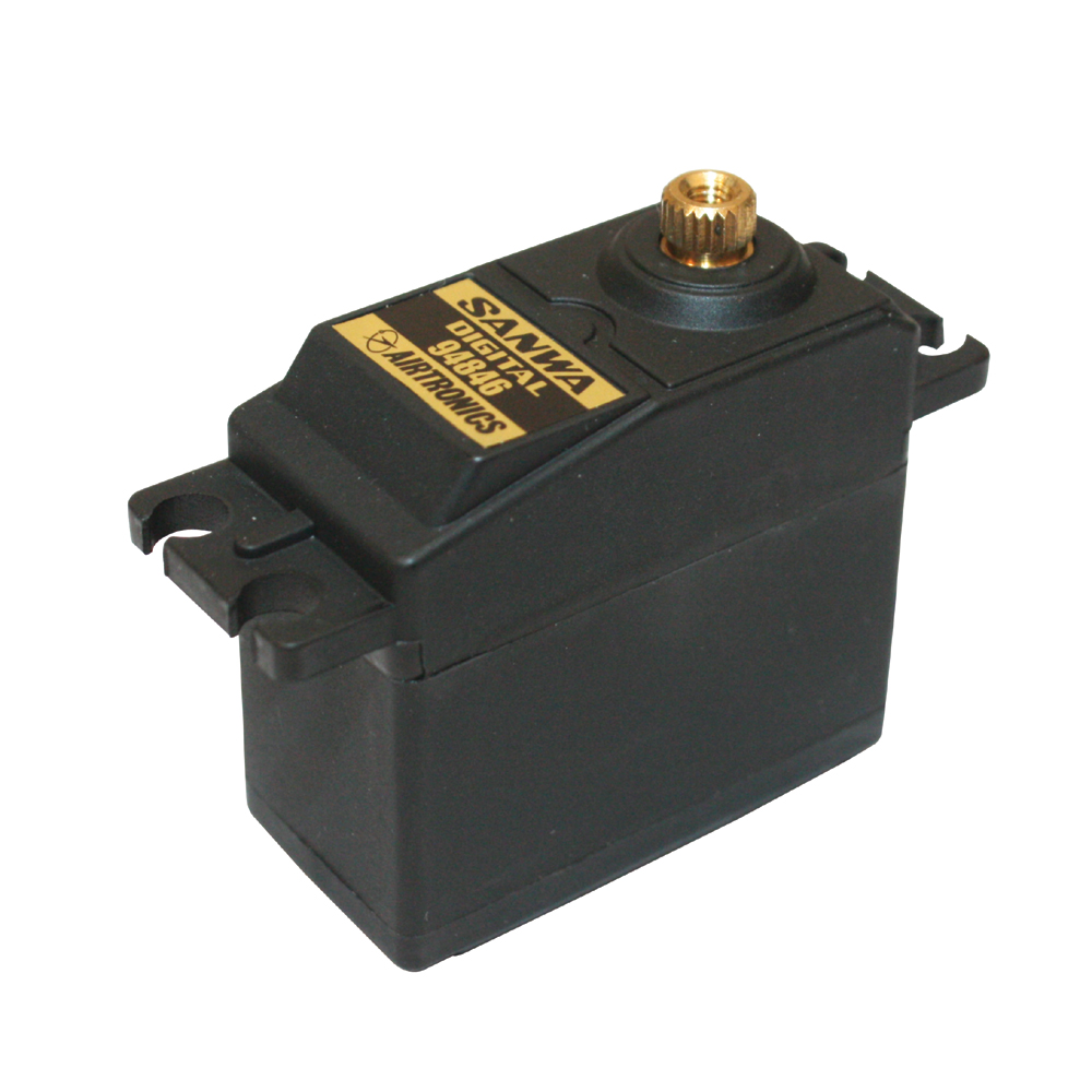 SANWA 94846 10.8Kg/0.18s High Torque Digital Servo - Click Image to Close