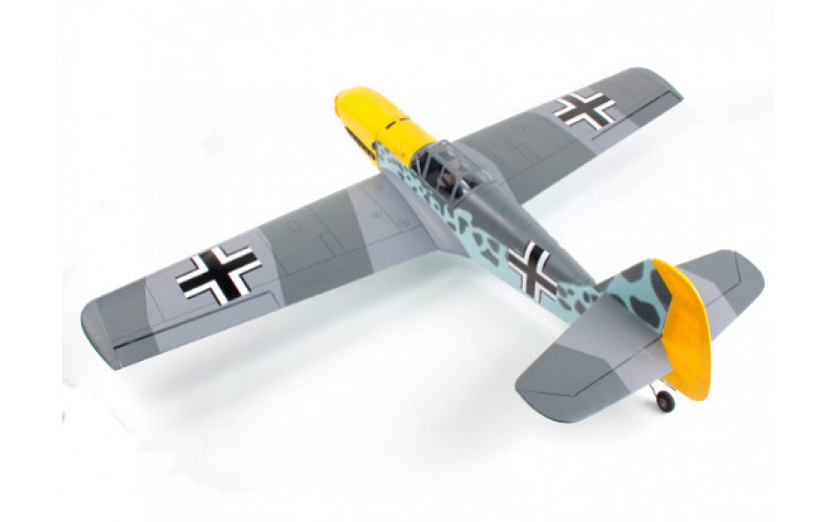 VQ Models Messerschmitt BF-109 (German Ver. II) 60.6in ARF - Click Image to Close