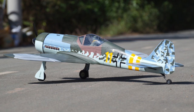 VQ Models Focke-Wulf FW-190D-9 59in Wingspan (EP/GP) - Click Image to Close