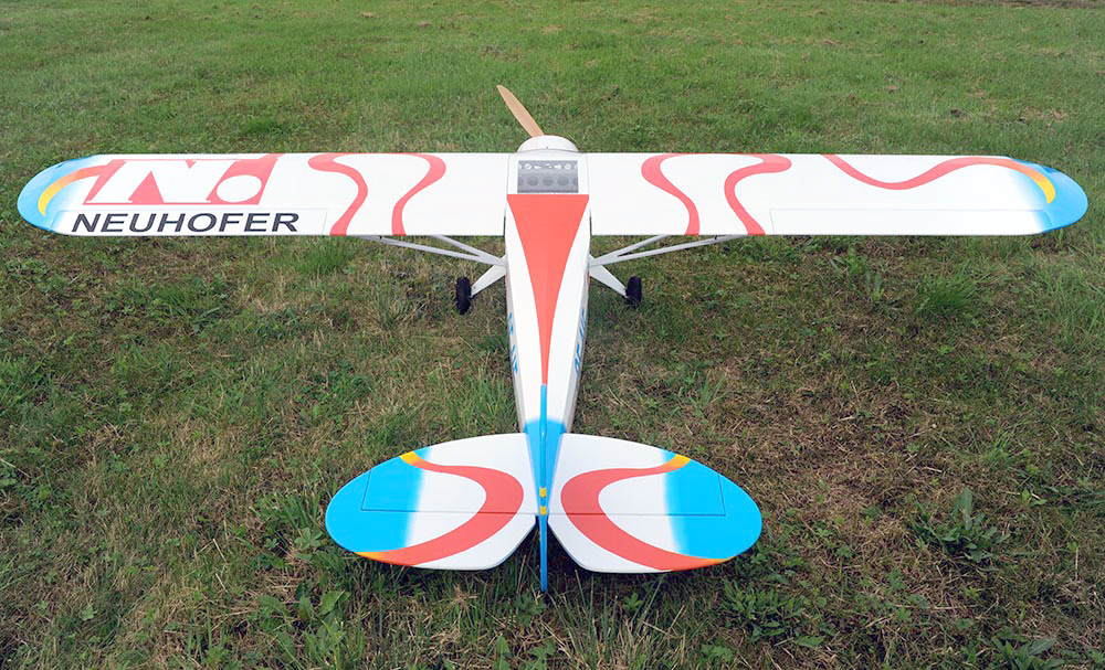 VQ Models Piper PA-18 Super Cub 106in Wingspan ARF - Click Image to Close