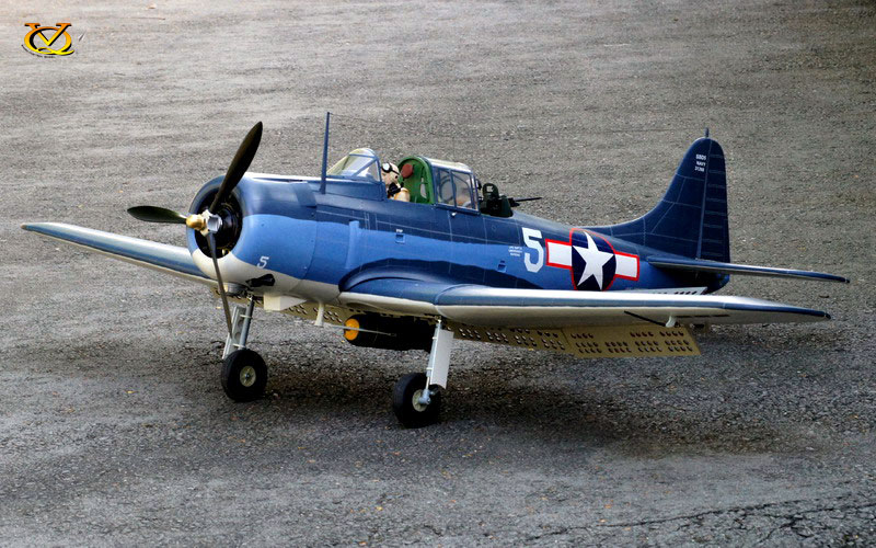 VQ Models SBD-5 Dauntless 81 1 Wingspan (EP/GP) [VQA132] - £499 95