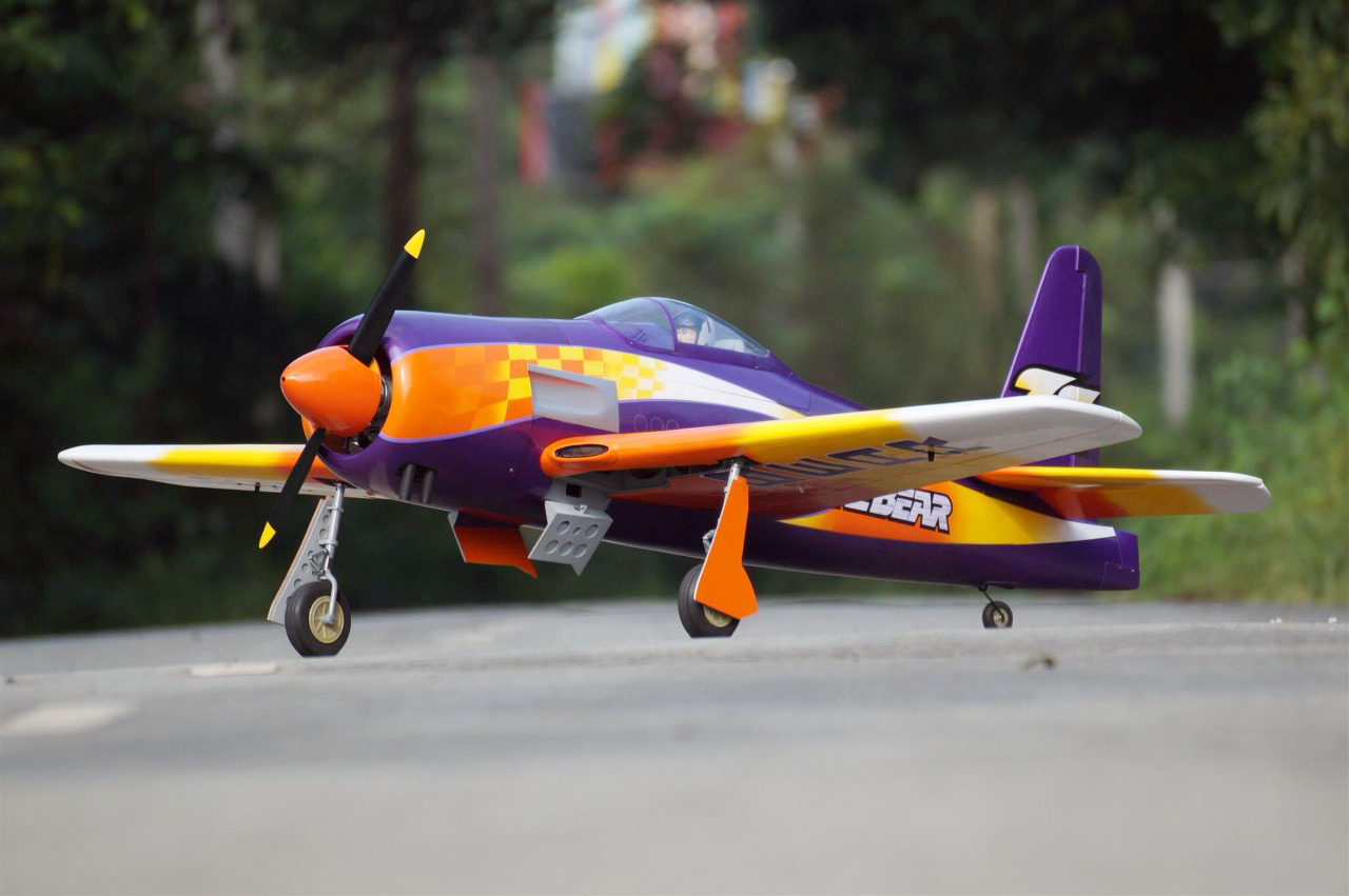 VQ Models F8F Rare Bear 79 5 Wingspan (EP/GP) [VQA135RB] - £549 95