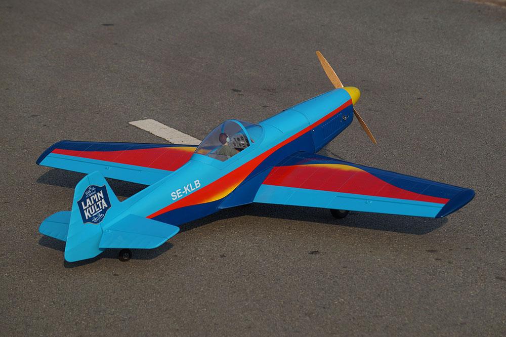 VQ Models Zlin 526 Akrobat 63 4in Wingspan ARF [VQA153SW