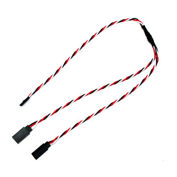 MacGregor - Futaba Y-Harness (420mm) (Anti-Interference)