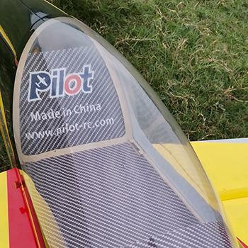 Pilot-RC Slick (Red/Yellow/Black - Scheme 01)