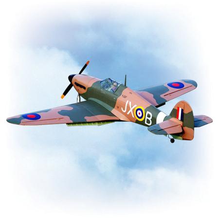 VQ Model Hawker Hurricane 60 Size