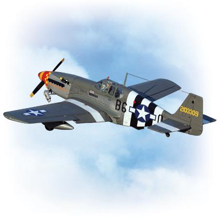 VQ Model P-51B (Berlin Express) ARF
