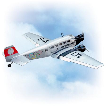 VQ Model Junkers JU-52 20 Size