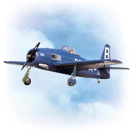 VQ Model F8F Bearcat 30cc ARF