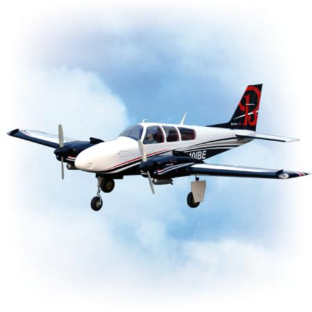 VQ Model Beechcraft Baron ARF